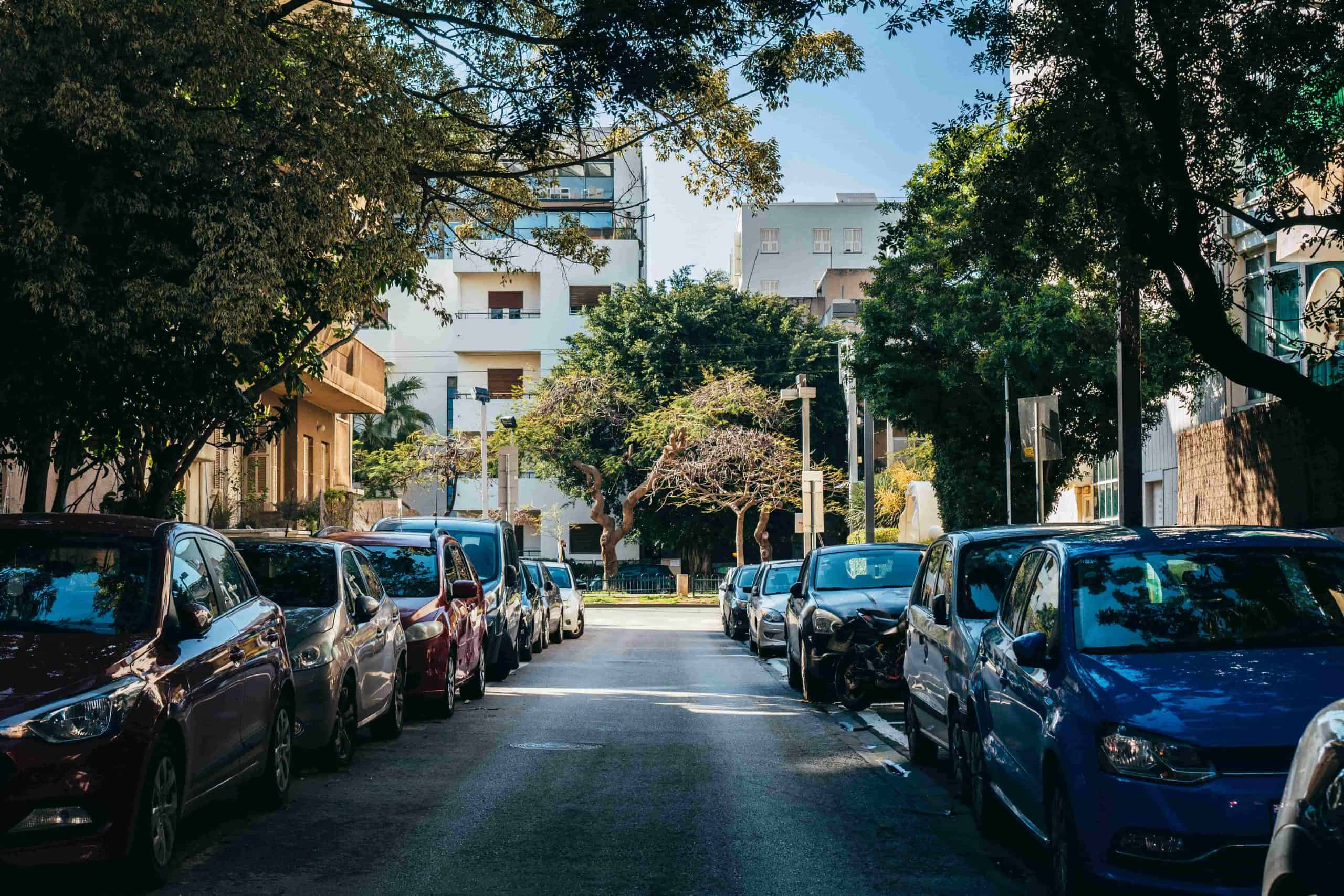 תו חנייה בתל אביב
